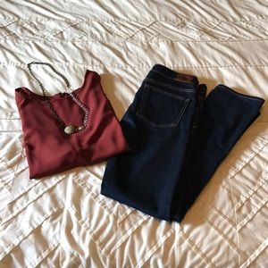 Anthropologie Holding Horses Dark Wash Jeans